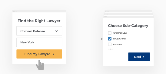 How LegalMatch Works - Step 1